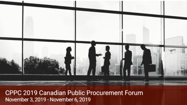 Chris Chivers Presents at Canadian Public Procurement Forum 2019